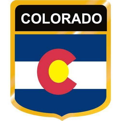 500x500 Colorado State Flag Clip Art