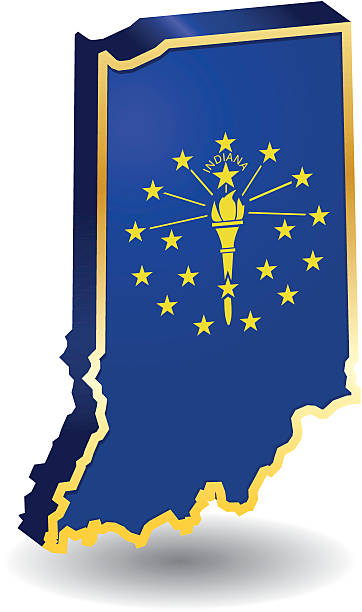 362x612 Indiana flag clip art clipart collection