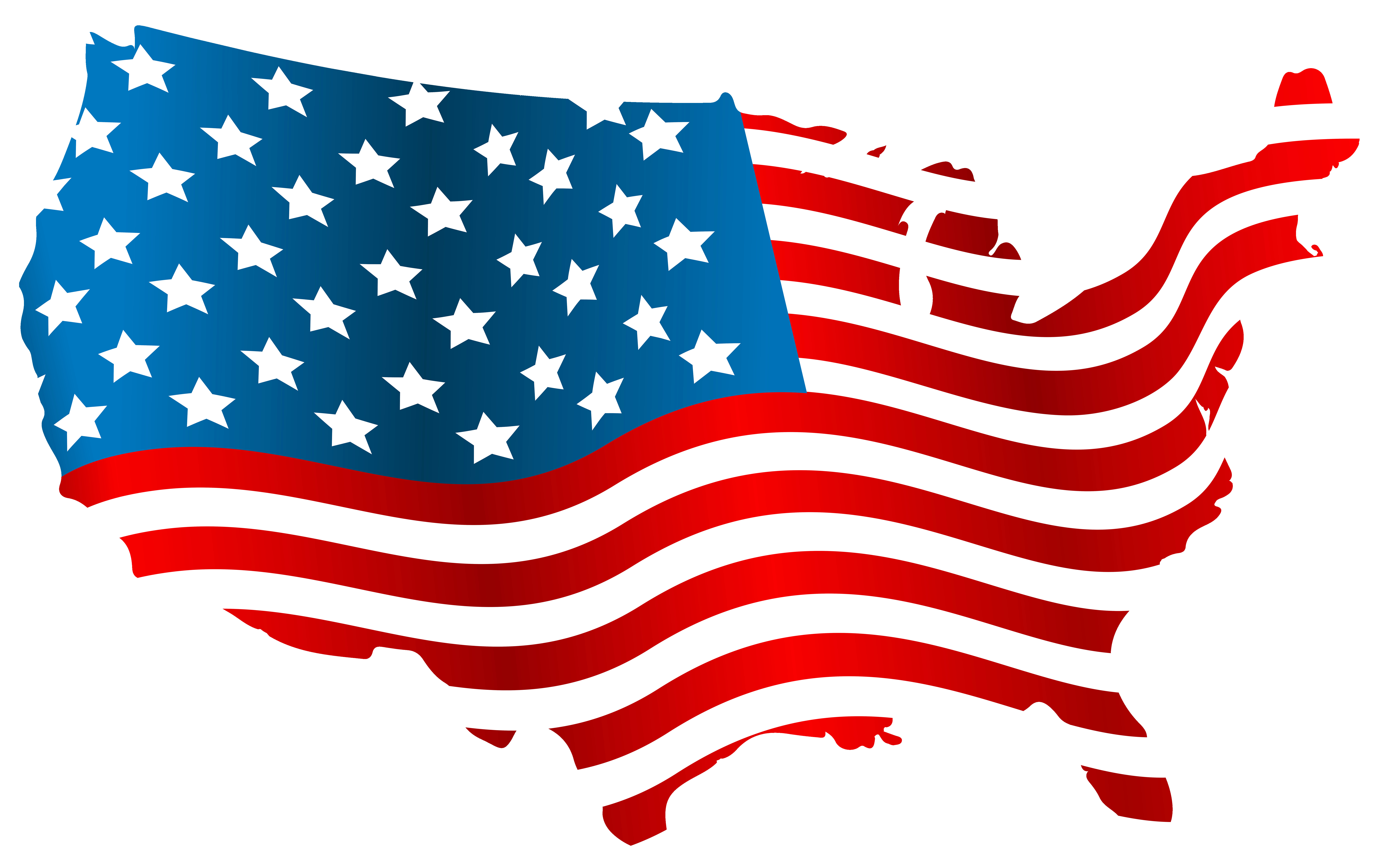8000x5042 Amazing Of Usa Clip Art Usa Flag Map Png Image Gallery