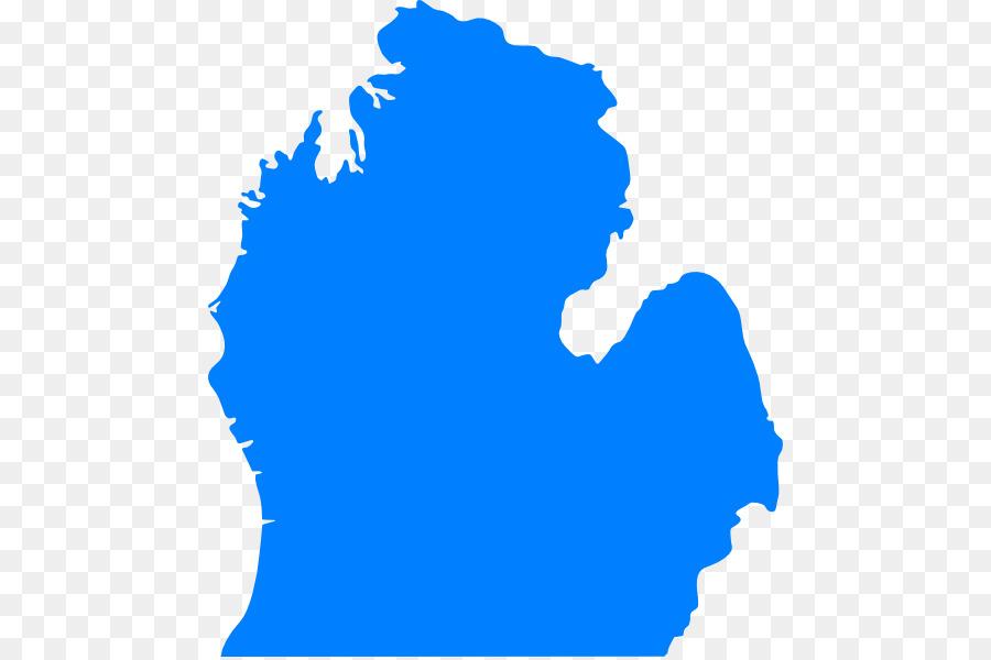 900x600 Central Michigan U.s. State Clip Art