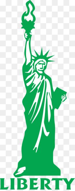 260x660 Free Download Statue Of Liberty Drawing Cartoon Clip Art