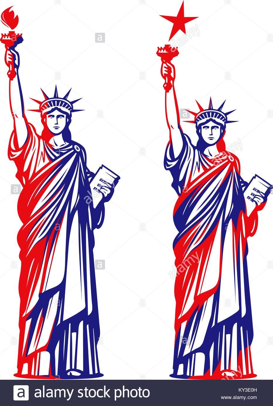 933x1390 Illustration Lady Statue Liberty Torch Stock Photos Amp Illustration