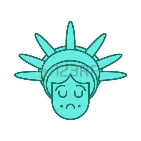450x450 Statue Of Liberty Head Clipart