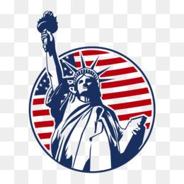 260x260 Statue Of Liberty Silhouette Clip Art