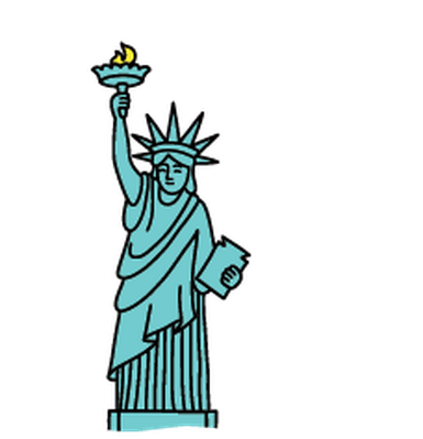 385x399 Statue Of Liberty Landmarks Clipart The Arts Media Gallery Pbs