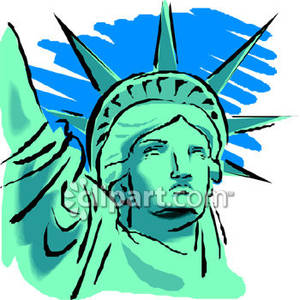 300x300 The Face Of The Statue Of Liberty