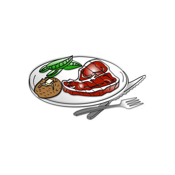 570x570 Steak Dinner Clipart Steak Dinner Clip Art Dinner Clipart