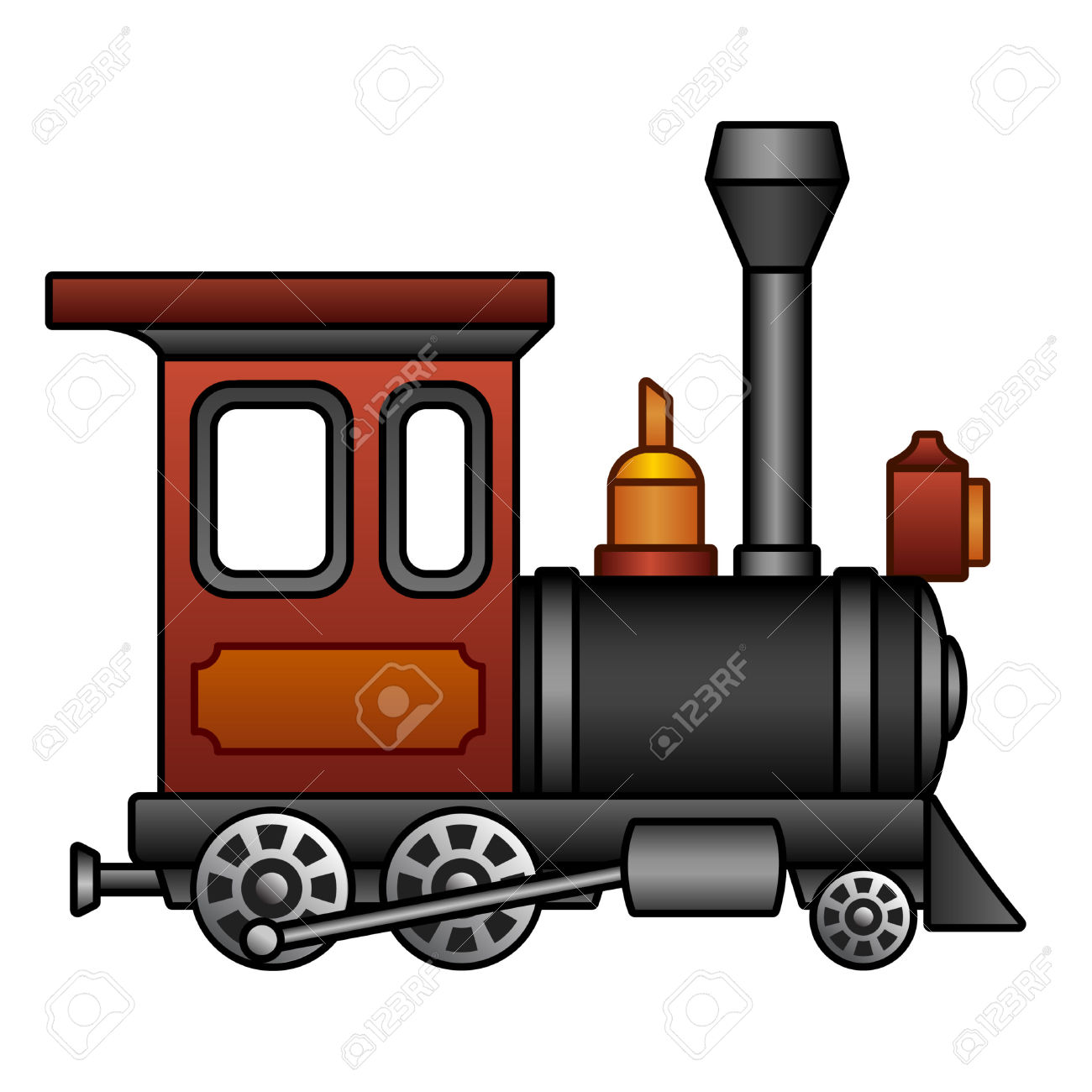 1300x1300 Old Mine Locomotive Clipart