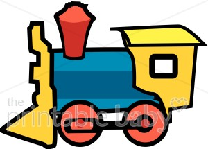 300x215 Steam Engine Clipart Baby Vehicle Clipart