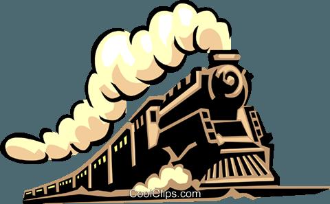 480x297 Steam Train Royalty Free Vector Clip Art Illustration Tran0938