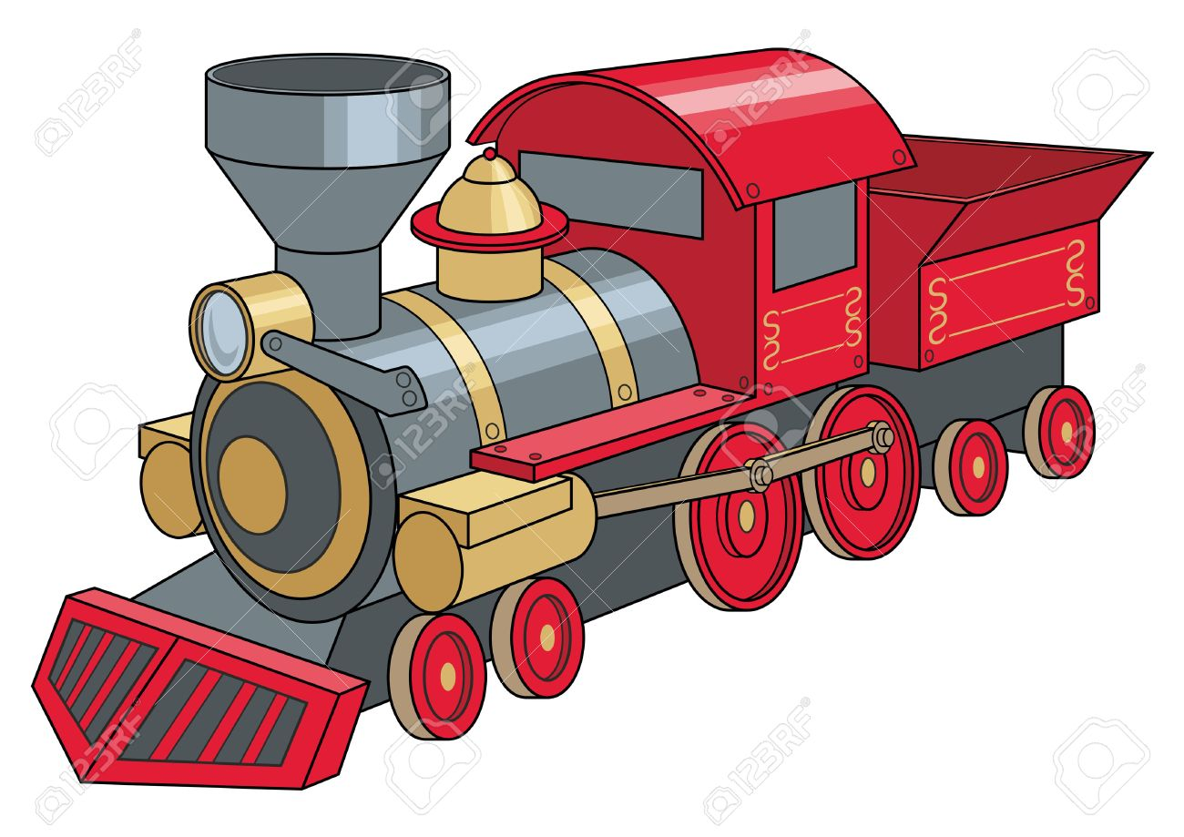 1300x919 Engine Clipart Red Train