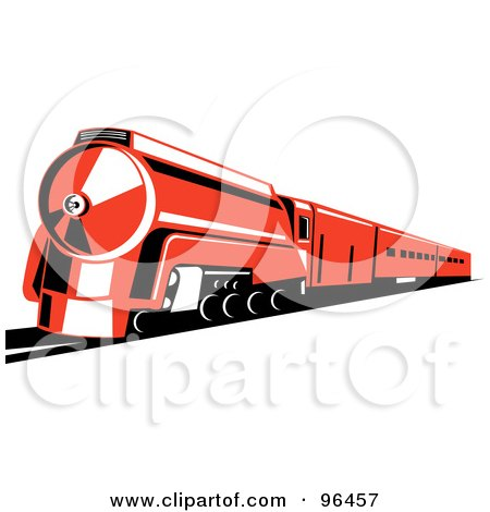 450x470 Royalty Free (Rf) Clipart Illustration Of A Reddish Orange Steam