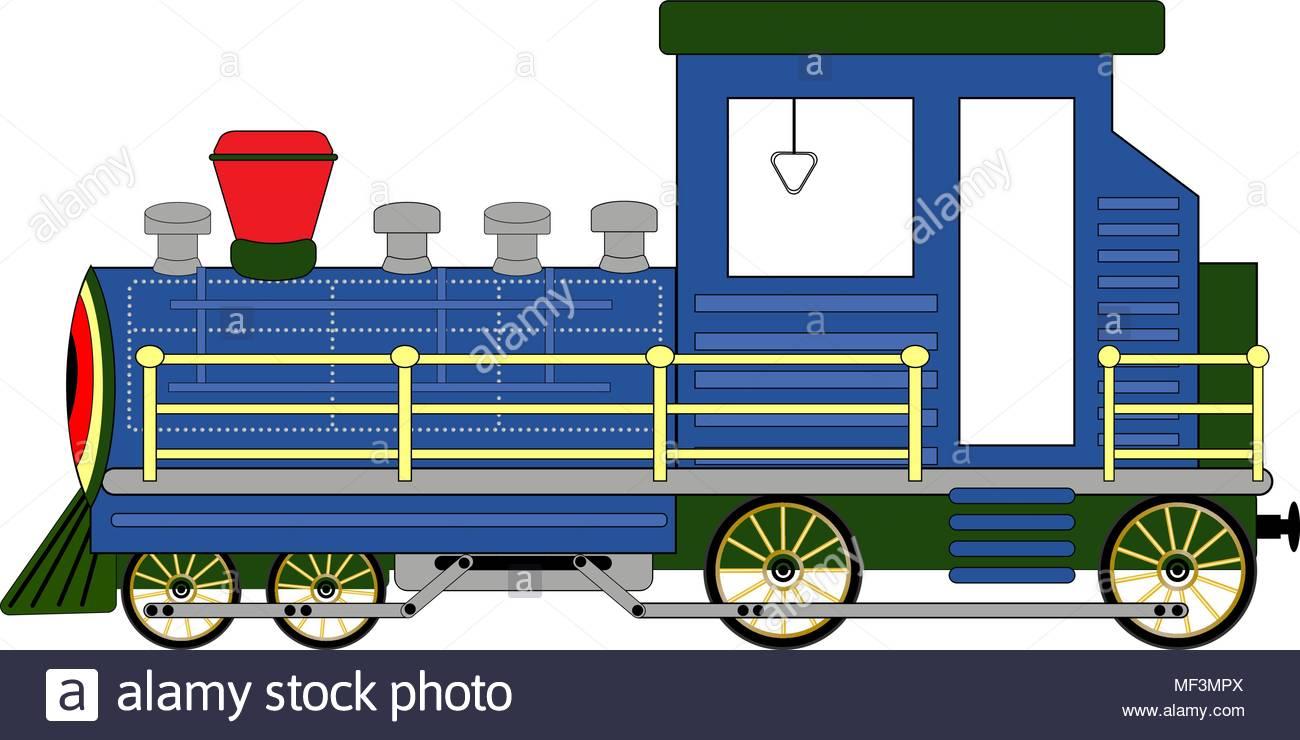 1300x740 Steam Locomotive Stock Vector Images
