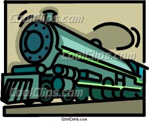 300x244 Steam Locomotive Clip Art