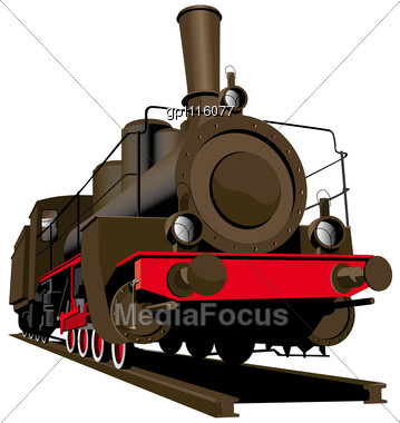 359x380 Stock Photo Old Steam Locomotive