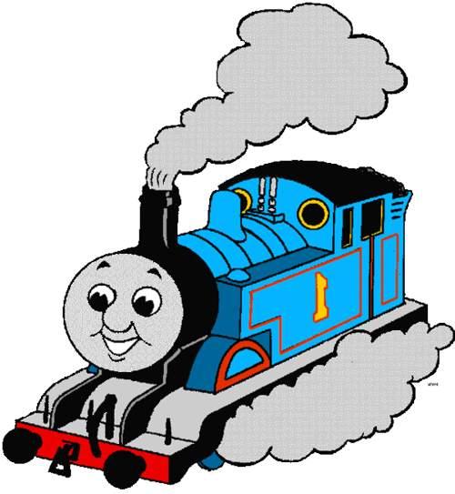 500x543 Thomas The Train Clip Art