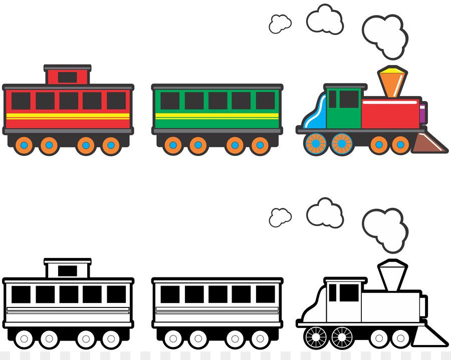 900x720 Toy Train Rail Transport Clip Art