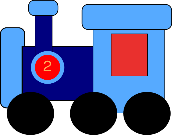 Steam Train Clipart