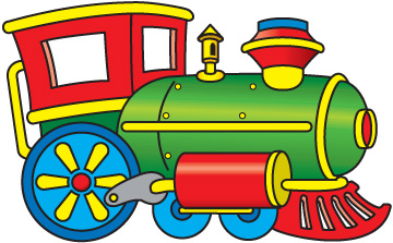 360x223 Toy Train Clipart