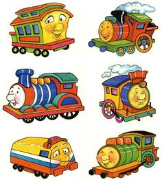 236x262 Cartoon Train Engine With Engine Driver Stock Vector Clipart