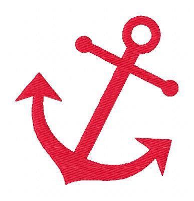 387x400 Anchor Clipart Vector