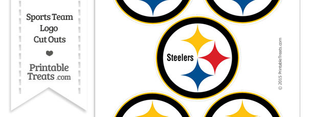 610x229 Steelers Logo Clip Art Small Pittsburgh Cut Outs