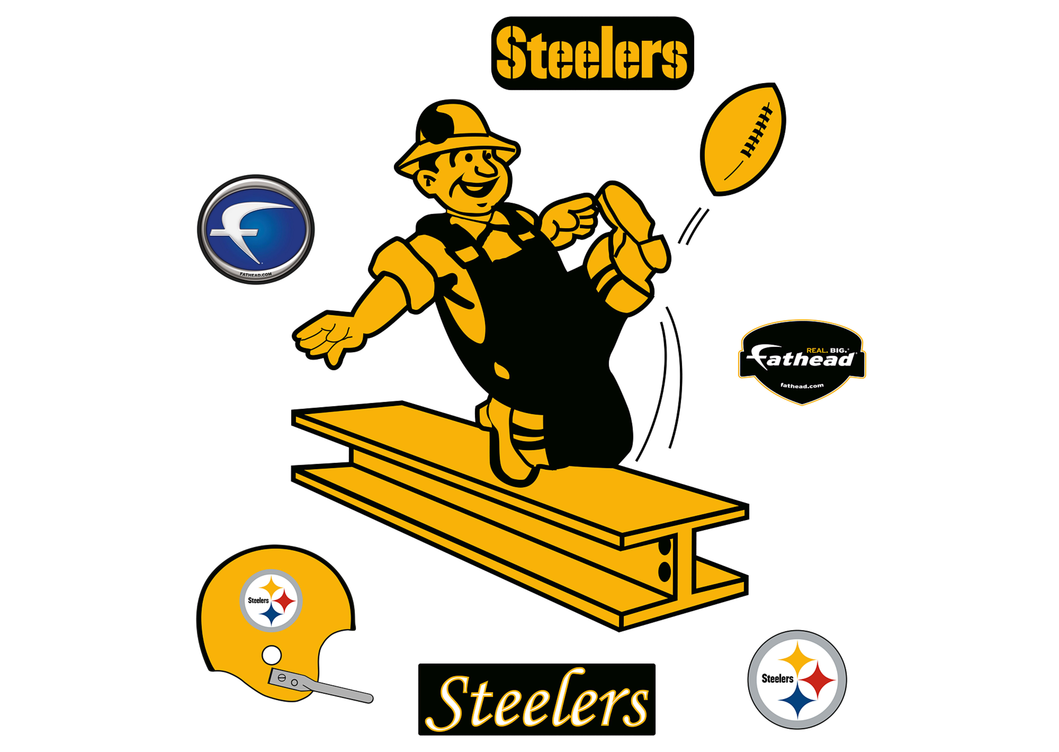 4225x3000 Alluring Pittsburgh Steelers Logo Images 17 Black Ipad 1024button1