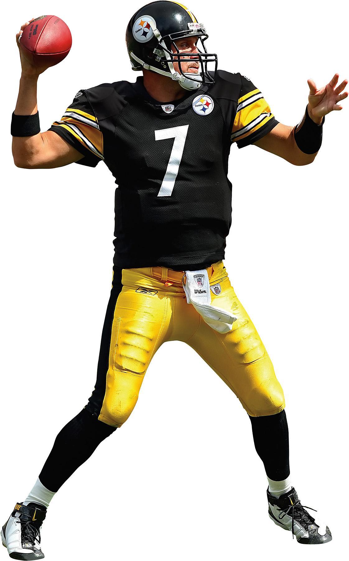 1122x1800 Brewster Wallpaper Pittsburgh Steelers Ben Roethlisberger Fathead