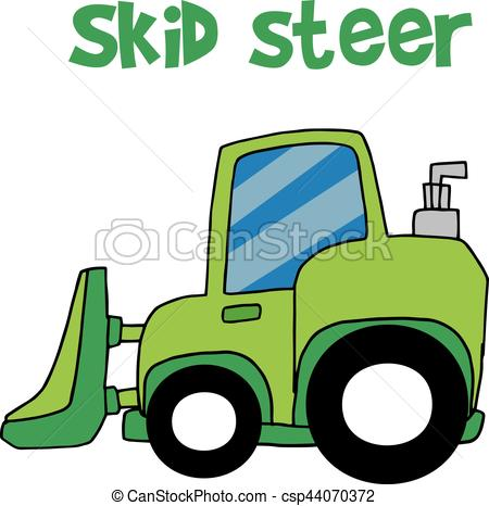 450x466 Compact Skid Steer Vector Clip Art Royalty Free. 48 Compact Skid