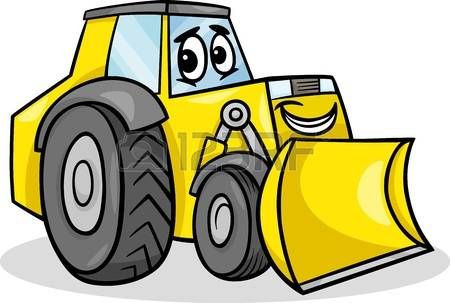 450x303 Awesome Skid Steer Clip Art Cartoon Machinery Amp Stock Royalty Free