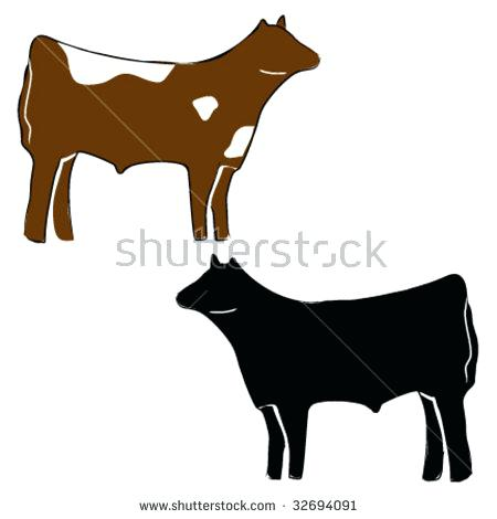 450x470 Steer Clip Art Bold Design Steer Cow Stock Images Royalty Free