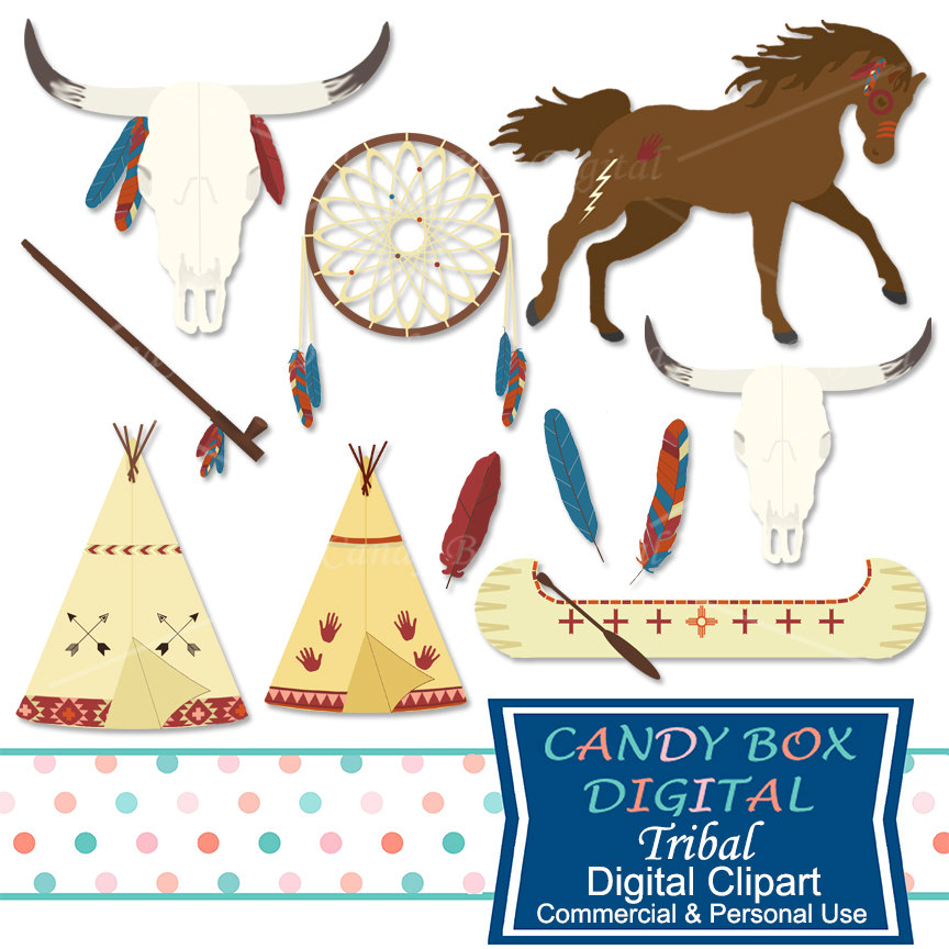 864x864 Boho Tribal Clipart, Indian And Southwestern Clip Art