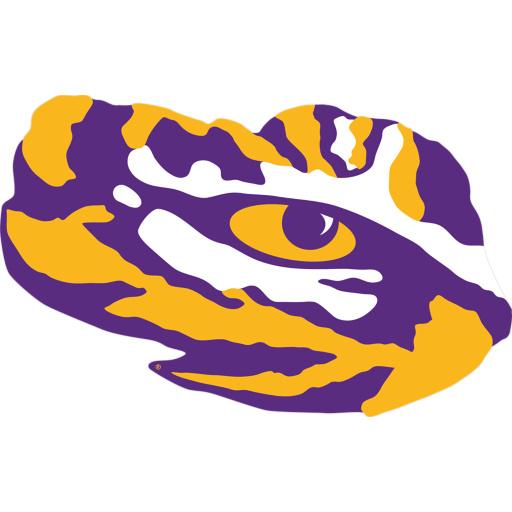 512x512 Charming Ideas Lsu Stencil Logo Eye Of The Tiger Clip Art 33