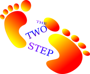 299x246 The Two Step Clip Art