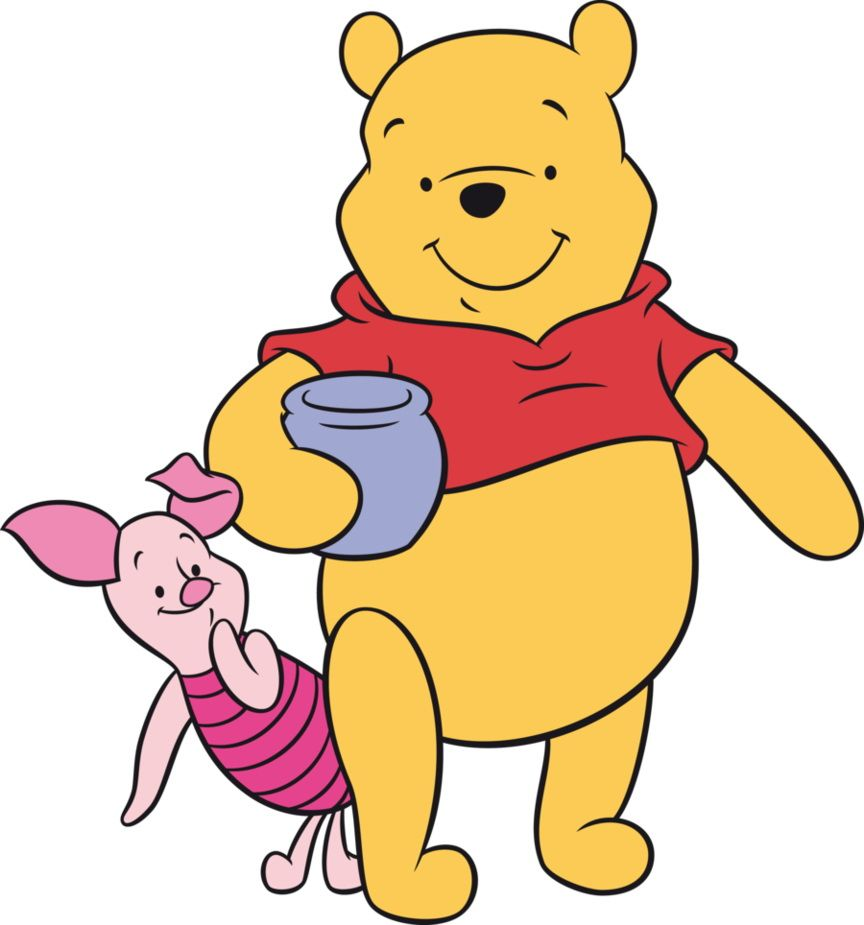 864x925 Winnie The Pooh Cartoon Clip Art 3