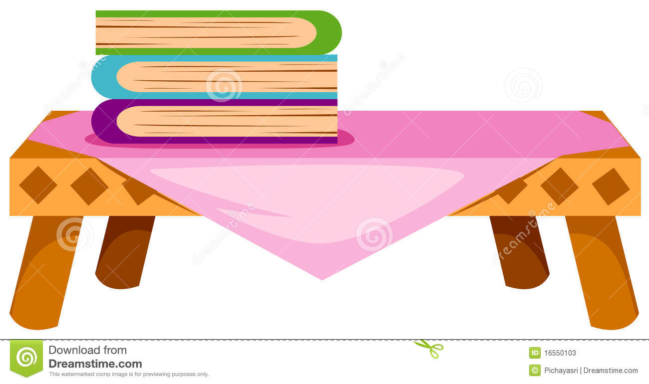 1300x770 Table Clipart Book