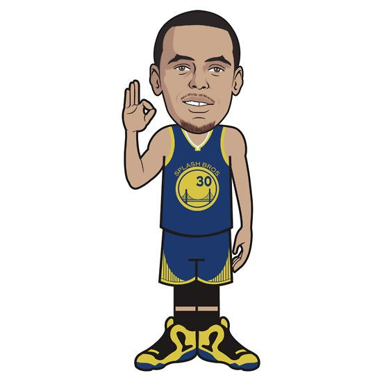 550x550 Stephen Curry Cartoon