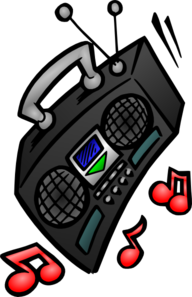 192x297 Old Stereo Clip Art