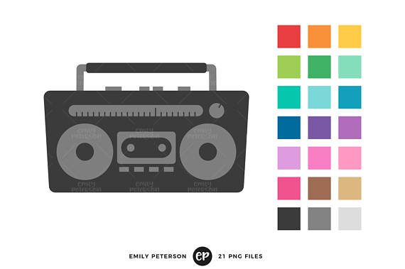 570x379 Stereo Clip Art Boombox Clipart Music Clip Art Commercial