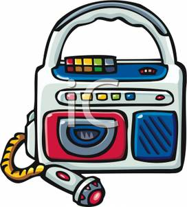 272x300 Tape Player Clipart