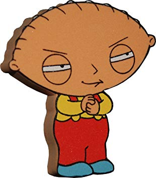 310x355 Family Guy Stewie Griffin Car Aerial Ball Antenna Topper