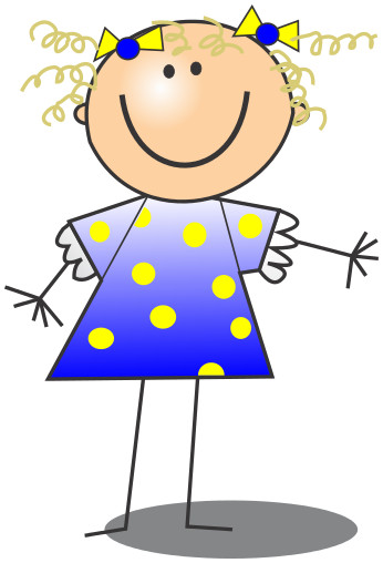 346x508 Best Of Happy Kids Clipart Stick Figure Girl Clip Art Cliparts