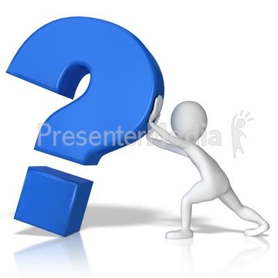 400x400 Question Stick Figure Clipart