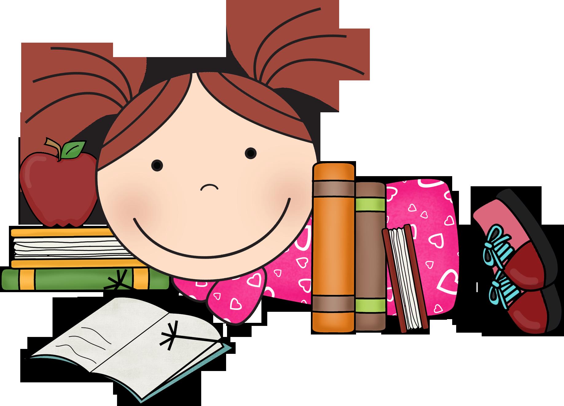 1836x1323 Reading Susie 2.png Clip Art School
