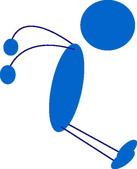 480x593 Stickman Jump Png, Svg Clip Art For Web