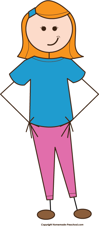342x779 Free Stick People Clipart