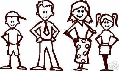 400x238 Stick Figure Family Free Download Clip Art Free Clip Art