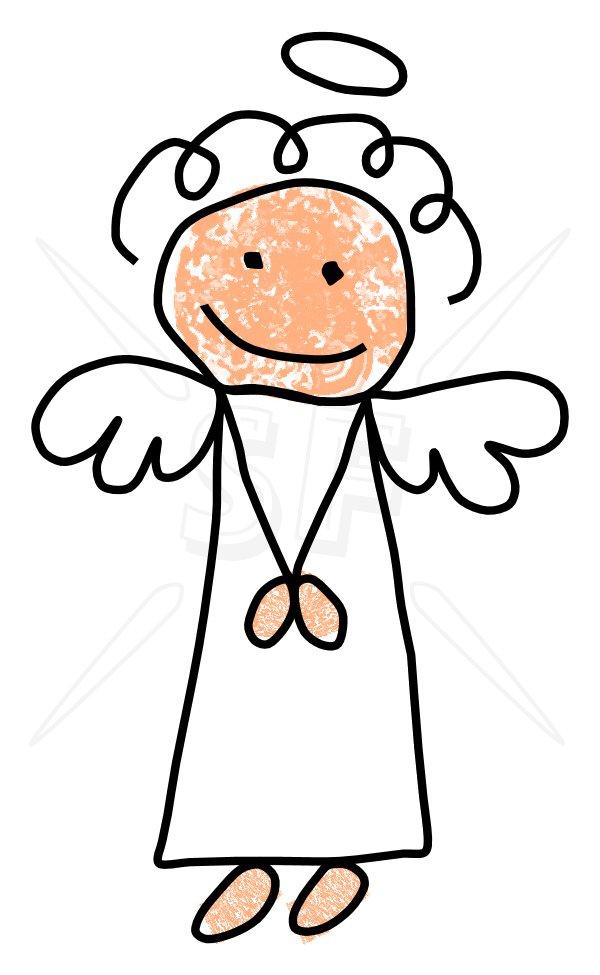 600x975 Angel Stick Figures Clip Art Stick Figures Clip Art Depot