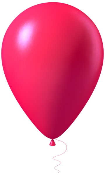 360x600 Pink Balloon Transparent Png Image