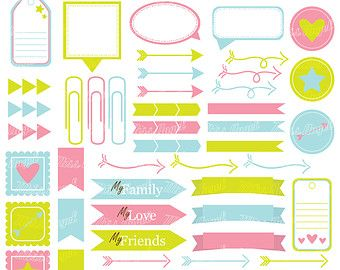 340x270 Colorful Multiple Frames Clipart 12 Digital By Missangelclipart